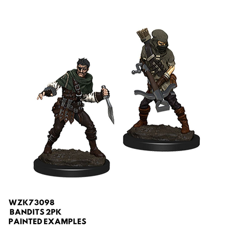 Pathfinder Miniatures - Bandits (Male) 2pk - Painted