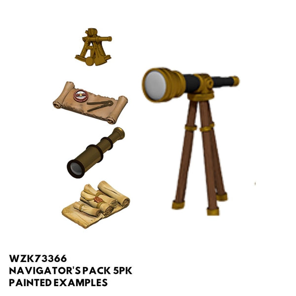 Pathfinder Miniatures - Navigator's Pack - Painted