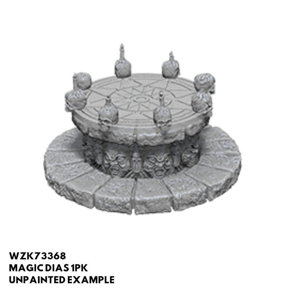 Wizkids #73368 Magic Dias 1pk - Unpainted Example