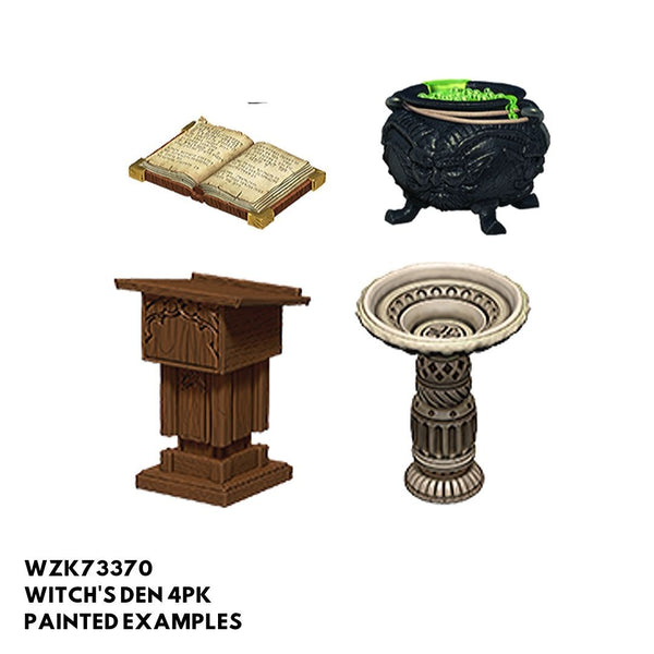 Wizkids #73370 Witch's Den 4pk - Painted Examples