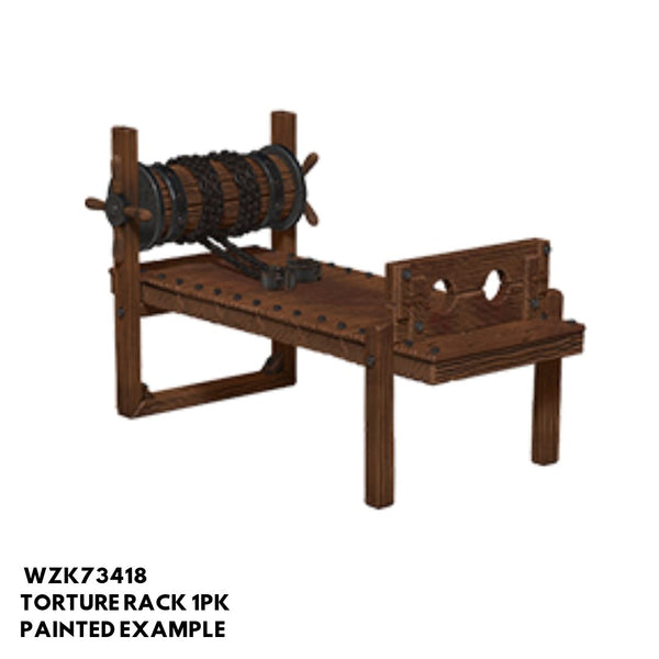 Pathfinder Miniatures - Torture Rack - Painted