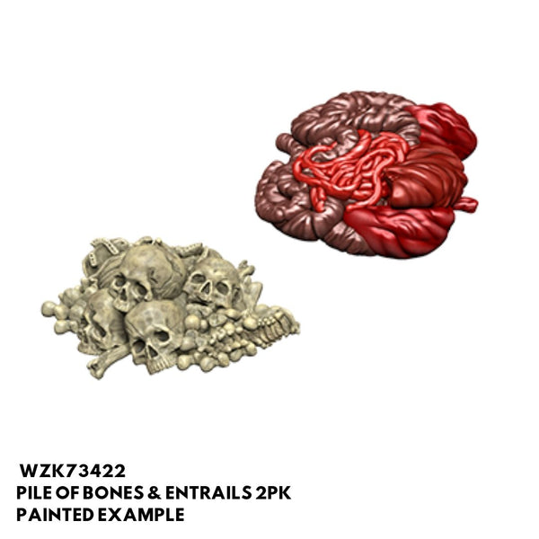 Pathfinder Miniatures - Pile of Bones & Entrails - Painted