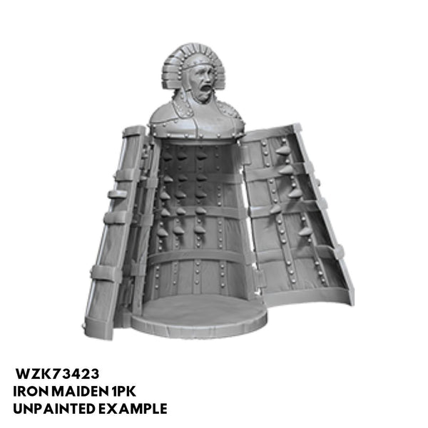 Wizkids #73423 Iron Maiden (Iron Cabinet with Spikes) 1pk - Unpainted Example
