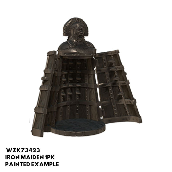 Pathfinder Miniatures - Iron Maiden (Iron Cabinet with Spikes) - Painted