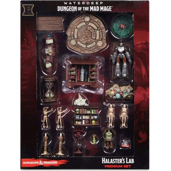 Halaster's Lab - Dungeon of the Mad Mage prepainted terrain & dnd minis