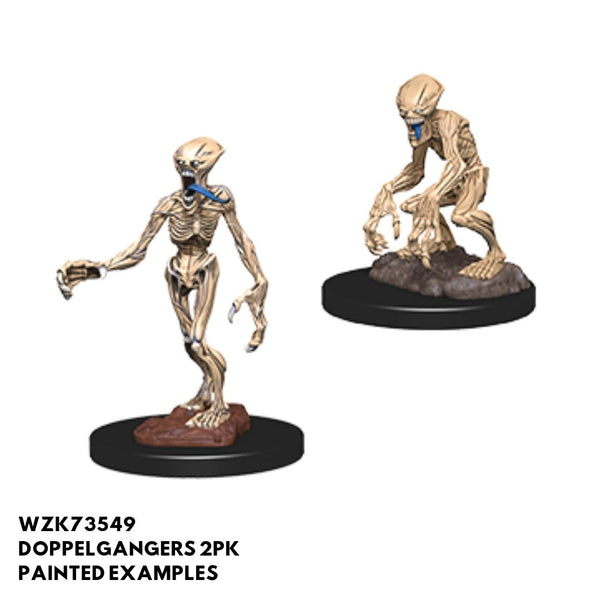 Pathfinder Miniatures - Doppelgangers - Painted