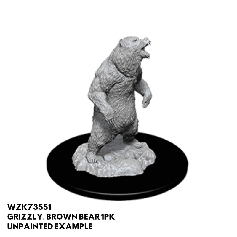 Pathfinder Minis - Grizzly Bear 1pk - Unpainted
