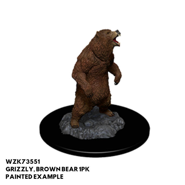 Pathfinder Miniatures - Grizzly Bear - Painted