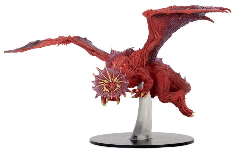D&D Minis - Ancient Red Dragon - painted
