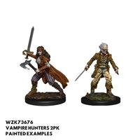 D&D Minis - Vampire Hunters - painted