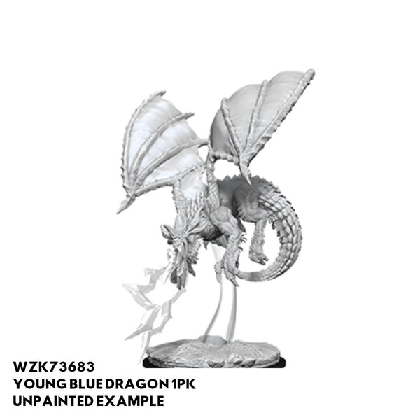 Young Blue Dragon unpainted