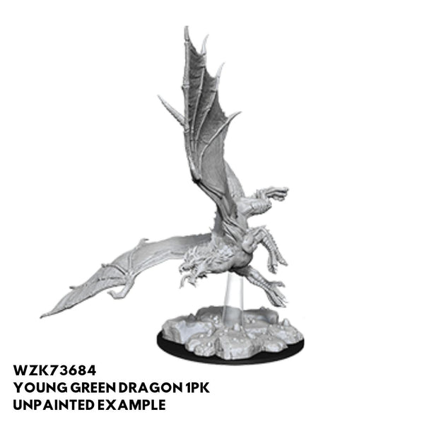 Young Green Dragon unpainted