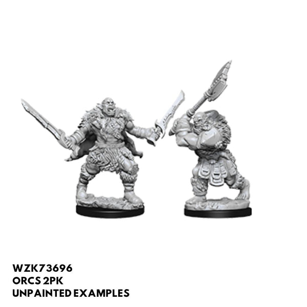Orcs 2pk  ||  Pathfinder: Deep Cuts Unpainted Miniatures