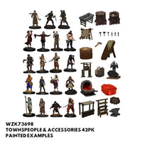Pathfinder Minis - Townspeople & Accessories - Painted