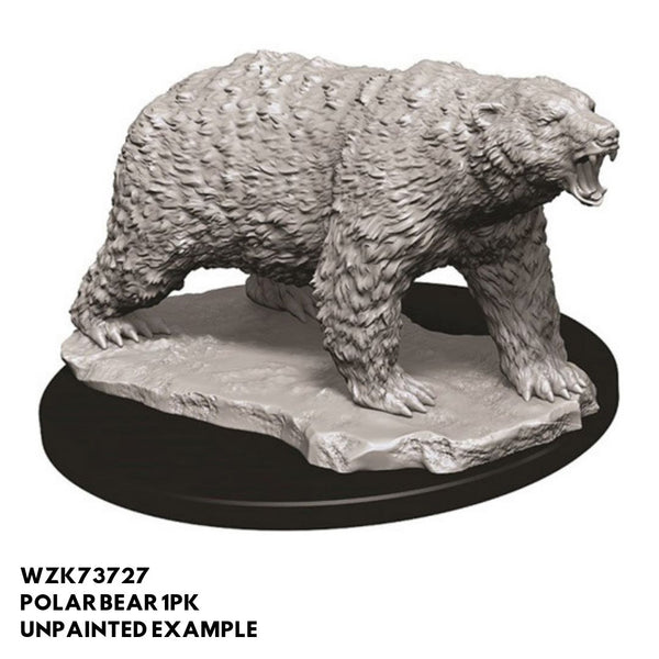 Pathfinder Miniatures - Polar Bear - Unpainted
