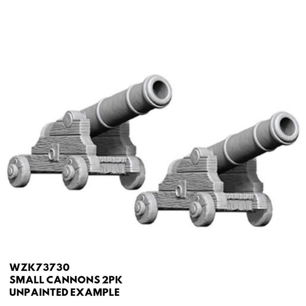 WZK73730 Small Cannons 2pk - Unpainted Examples