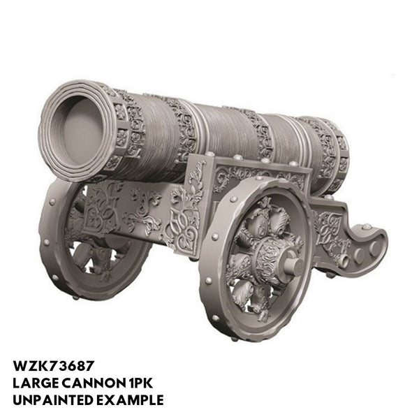 Pathfinder Miniatures - Large Cannon - Unpainted