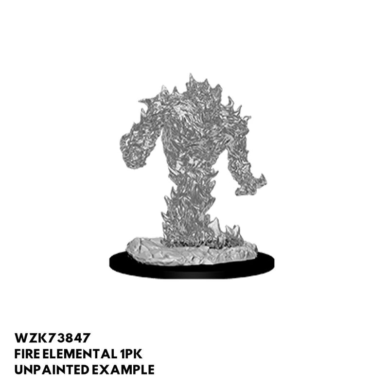 Nolzurs D&D Mini - Fire Elemental - Unpainted Example