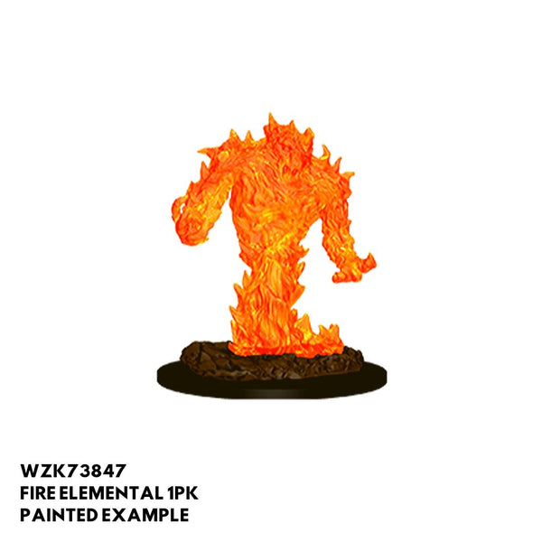 Wizkids D&D Miniature - Fire Elemental - Painted Example