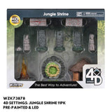 Jungle Shrine 10pk  ||  Wizkids 4D Settings: Pre-Painted + LEDs