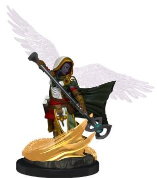 D&D Minis - Aasimar Wizard painted