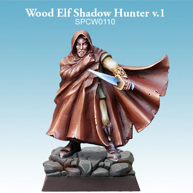 Spellcrow Miniatures - Wood Elf Shadow Hunter