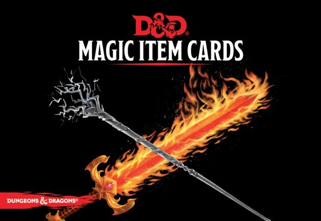 D&D Spellbook Cards Magic Item Deck (294 cards)  ||  D&D Card Decks