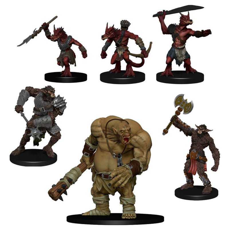 D&D Miniatures - Monster Pack - Cave Defenders - prepainted