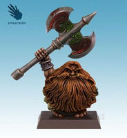 Dwarf Barbarian Great Axe painted