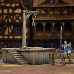 terraincrate gallows & stocks - dnd terrain & miniatures