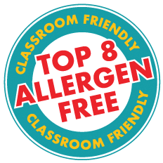 Free of the top 8 allergens in children