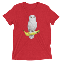 Load image into Gallery viewer, White Owl Banana Grape | Triblend t-shirt - BananaKlip