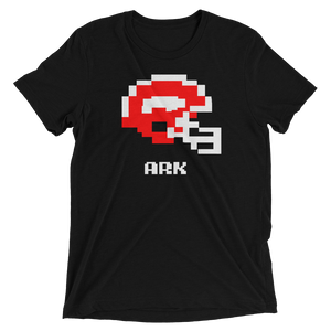 Arkansas Razorbacks | Tecmo Bowl Helmet Shirt - BananaKlip