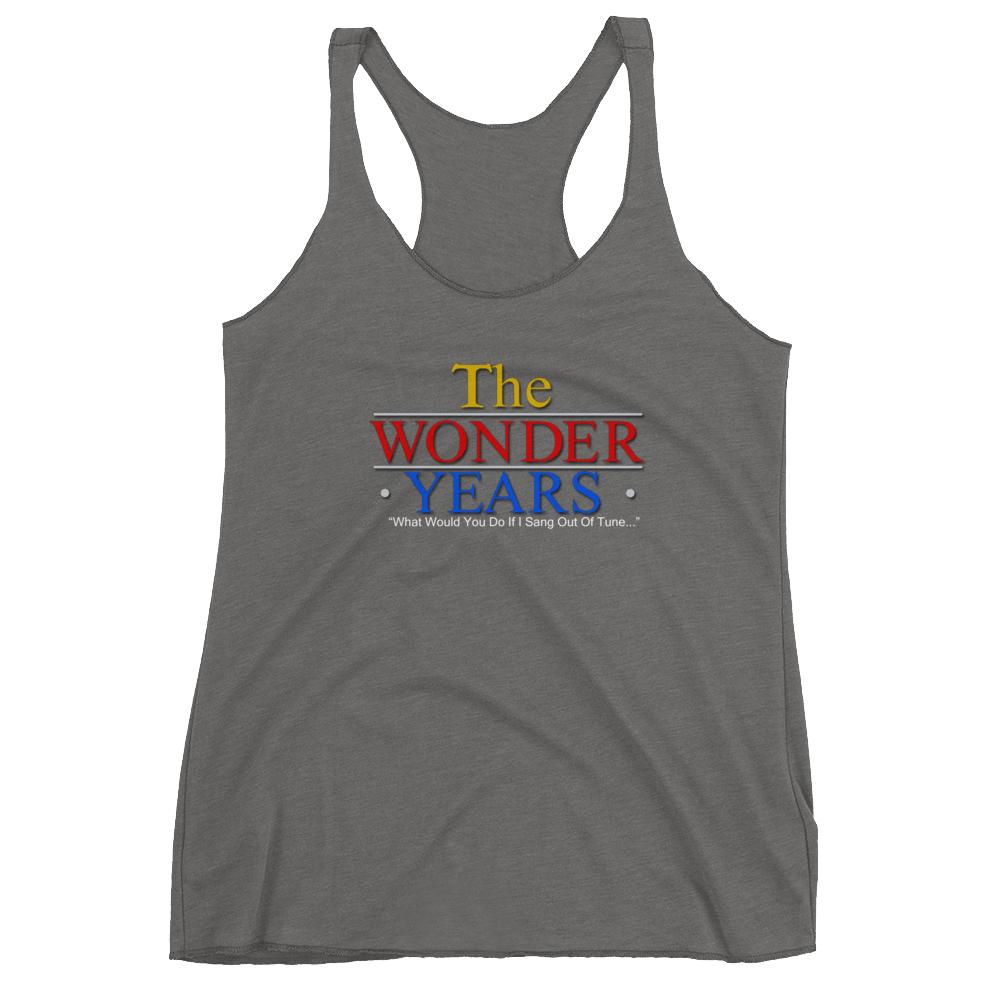 The Wonder Years | BananaKlip Ladies Tank - BananaKlip