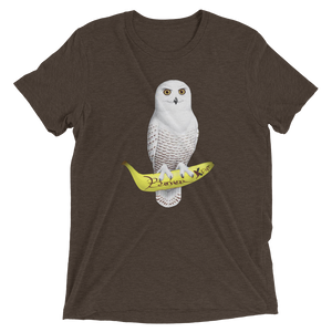 White Owl Banana Grape | Men€™s Triblend t-shirt