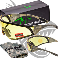 12 GAUGE Hunting Shooting ACU Camouflage Safety Glasses - with EVA Foam