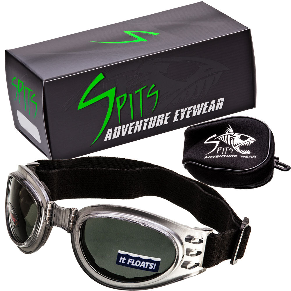 Adventure Polarized Folding Goggles with Neoprene Case