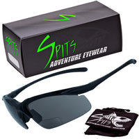 Clincher Low Small Bifocal Running and Cycling Safety Glasses Rated