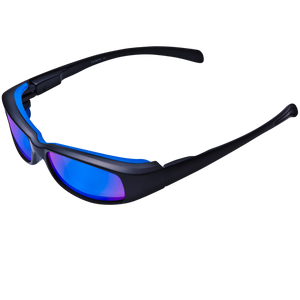 New Attitude Blue Rubber Accent Frame Various Lens Color Options