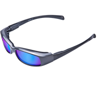 New Attitude Gray Frame Various Lens Color Options