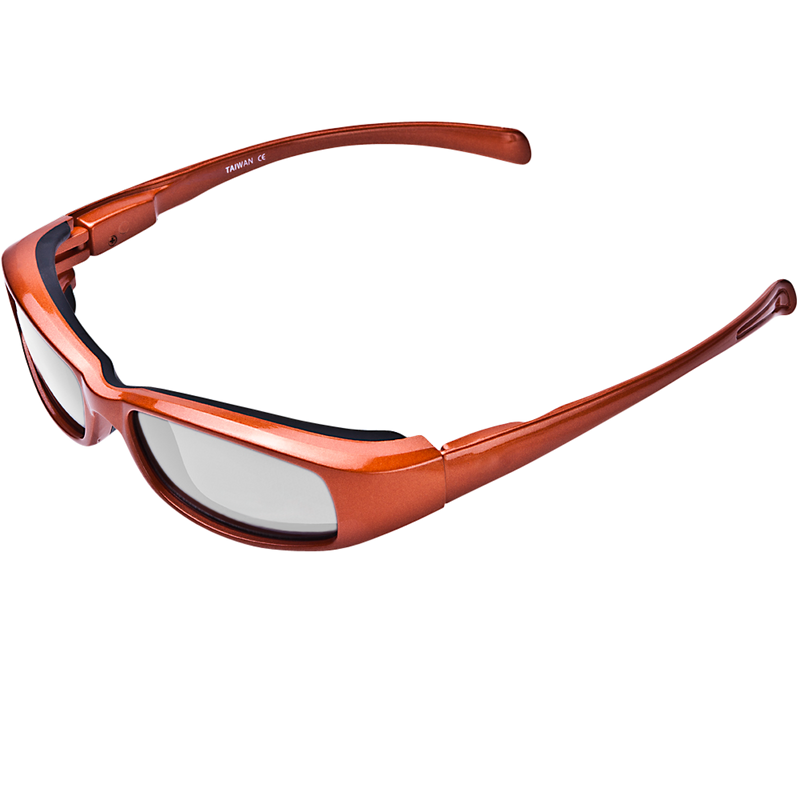 New Attitude Orange Frame Various Lens Color Options