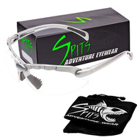 Spits C2 Top Focal Magnifier Hunting-Shooting Safety Glasses (Pink, Gray, Silver)