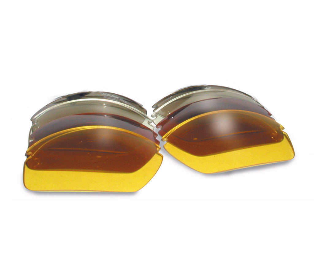 C2 Safety Glasses Replacement LENSES ONLY - in Various Lens Color Options