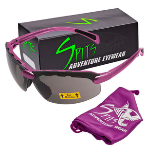 C2 Top Focal/Bottom Bifocal Safety Glasses in Pink Frame