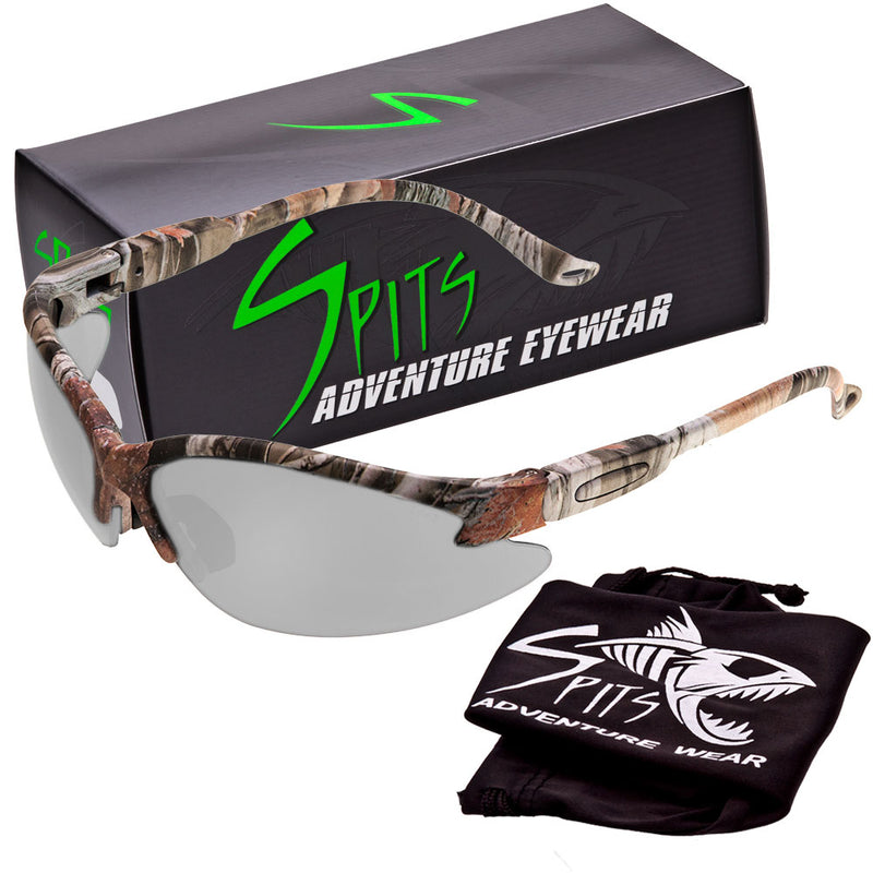 Cougar FOREST CAMO Safety Glasses, Various Lens Options, including Photochromic
