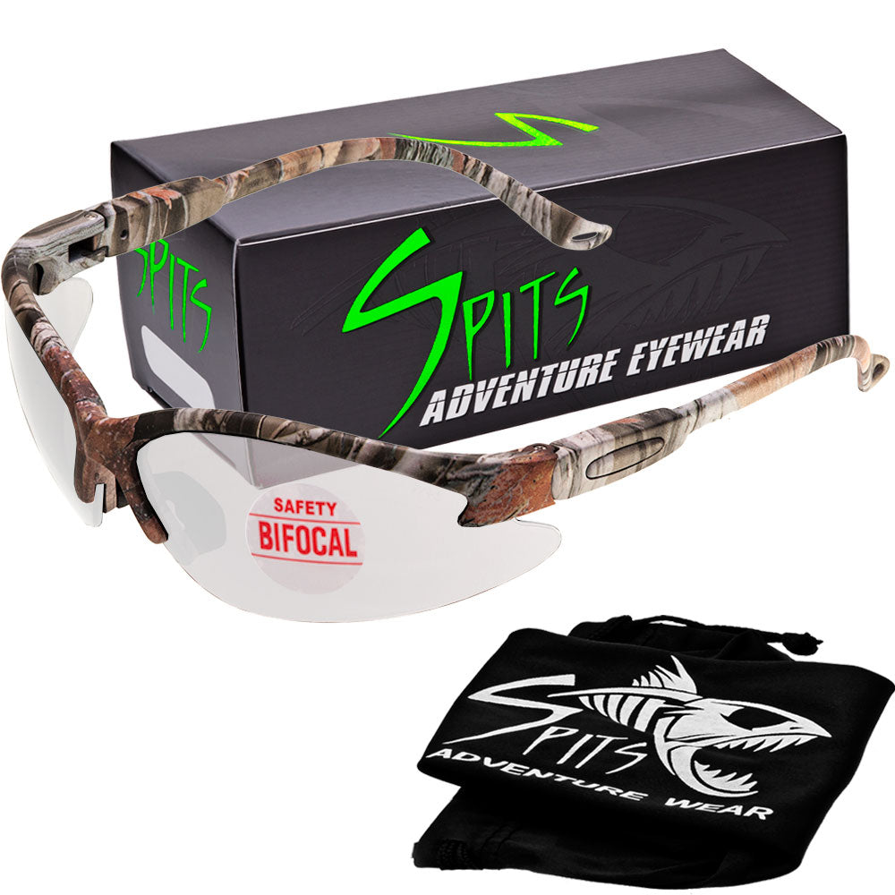 Cougar FOREST CAMO Magnifying Bifocal Safety Glasses