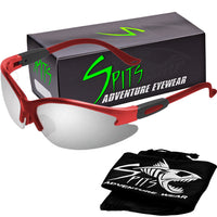 Cougar RED Safety Glasses, Various Lens Options, including Photochromic