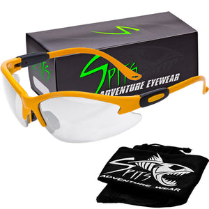 Cougar Photochromic Safety Glasses -Light Adjusting Safety Glasses 21 Frame Colors