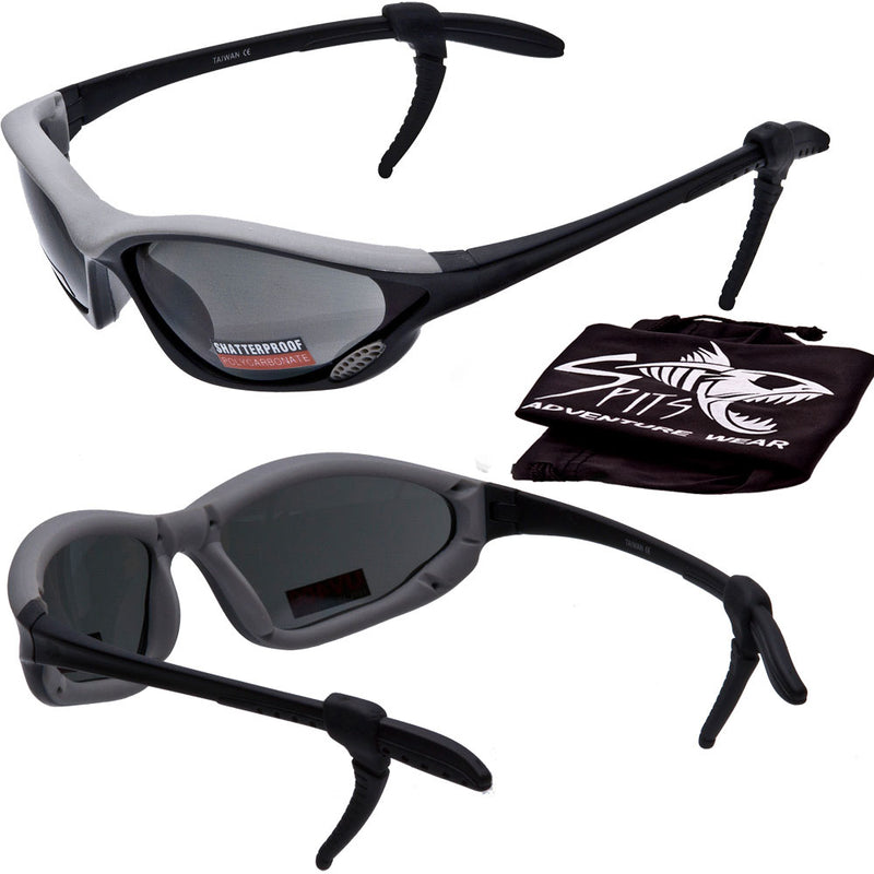 Helix Sports Sunglasses, Rubberized Insert With Lens Venting