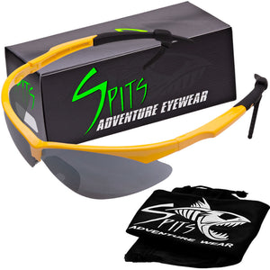 Fast Freddie Safety Glasses, Various Frame and Lens Options